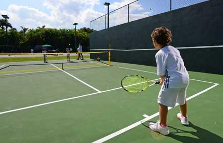 Mini-courts
