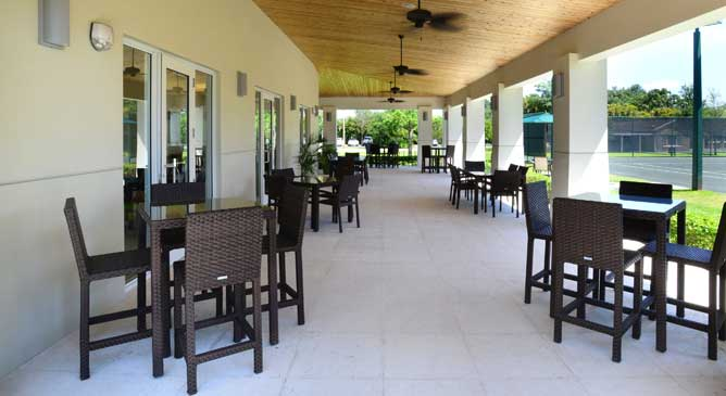 East Covered Patio